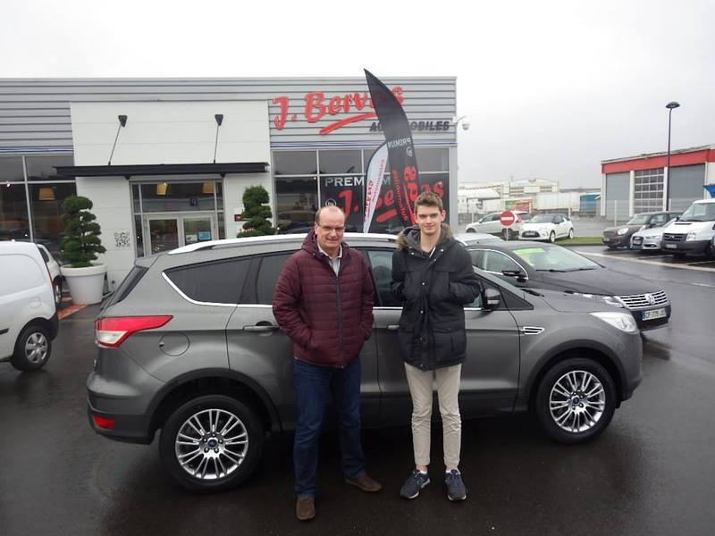 Ford Kuga Occasion Normandie